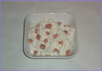 ketogenic diet - cheese with salami