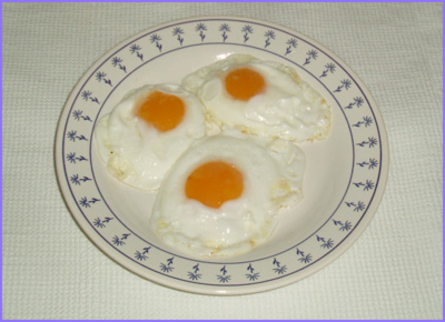 ketogenic diet - fried eggs